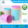 9L/ 13L Weave Plastic Dustbin/ Wastebasket for Home & Office