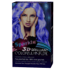 3D Briliant Sparkle Hair Color Cream cosmetic