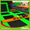 Top Quality Indoor Combined Trampoline Park with Dodgeball Court