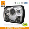 7′′ Square Sealed Beam CREE Chip Ce Approved 5X7′′ High Low Beam LED Headlight for Jeep Wrangler