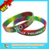 Colorful Lovely Swirl Silicone Wristband with Thb-052