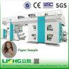4 Colors Duplex PaperCentral Drum Flexographic Printing Machine