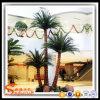 Hotel Decoration Plant Fiberglass Plastic Artificial Palm