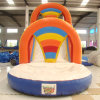 Inflatable Water Slide with Climbing Wall