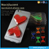 Heart-Shaped Noctilucent Quicksand TPU Case for iPhone 6