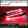 48W LED Warning Dash Visor Light with Suction Cup
