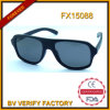 Handmade Natual Wood Sunglasses Polit Sunglass (FX15088)