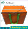 Tote Foldable PP Woven Aluminium Foil Zipper Bag with EPE
