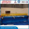 QC12y-10X2500 Hydraulic Swing Beam Shearing Machine/plate cutting machinery