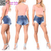 Can′t Knock Me Down Ladies Shorts Jeans L541