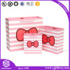 Pink Printing Custom Paper Bag for Shopping Packaging
