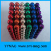 High Quality N35 Colorful Diameter 5mm Sphere Magnet Rubik Cube