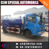 Dongfeng 6000L Vacuum Sucking Truck Vacuum Sewer Tank Vehicle