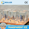 200kg/Day of Transparent Ice Blocks with New Technology