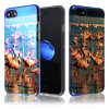 IMD Printing Shock Absorbent Ultra-Slim Soft Flexible TPU Transparent Skin Scratch-Proof Case for iPhone 6/6s