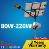 IP65 6000k Cool White 80W-210W LED Solar Street Light