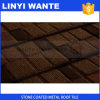 Linyi Manufacturer Building Material Stone Coated Shingle Roof Tile