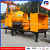 mobile Truck Mounted Concrete Mixing Pump for Sale