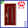 2017 New Design Steel Security Exterior Door for Project
