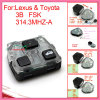 Remote Interior for 2005-2012 Toyota with 3 Button 433.92MHz W Q V