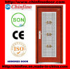 Steel-Wood Armored Door with Stainless Steel Window (CF-M044)