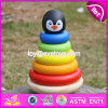 New Design Intelligence Penguin Toy Toddlers Wooden Stacking Toys W13D135