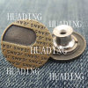 High-End Jeans Metal Shank Button of Garment (HD1123-15)