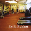 Power Lifting Rubber Tiles/Thick Sports Rubber Flooring