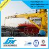 Electric Hydraulic Telescopic Boom Hoisting Machine Ship Deck Crane