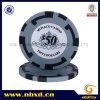 15g Clay Striped Big Poker Chip with Custom Sticker (SY-F07)