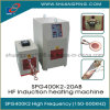 High Frequency Induction Heating Machine 20kw 200-500kHz Spg400K2-20b