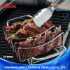 Practical Barbecue BBQ Grill Rib Rack with Customized Logo and Design