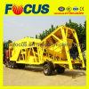 Excellent Performance Movable Concrete Batching Plant of 75cbm/H