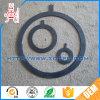 Black Round Oil Resistant NBR Rubber Sealing Gasket / Lock Seal Gasket