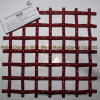 Red Color 65mn Crimped Screen Wire Mesh Used in Vibrating Screen