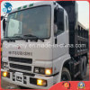 Manual-Transform 6*4-Drive-LHD-Power-Steering White-Repaint 7ton-Good-Chassis Easy-Cargo-Shipping Used Japan-Originated Mitsubishi Dump Truck