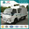Isuzu 1.5 Ton Light Duty Van Cargo Truck with Double Row Cabin