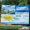 Outdoor Advertising Custom Vinyl PVC Banner Digital Printing with Eyelet