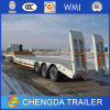 Lowboy Semi Trailer Heavy Duty Machine Loader with Trailer