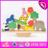 Educational Funny Wooden Balance Toy for Kids, Wooden Animals Balance Blocks Toy for Children W11f052