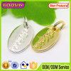 2015 Custom Metal Logo Jewelry Tag Charm for Bracelet
