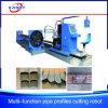 Multi-Function Rectangular Round Pipe Elliptical Tube CNC Plasma Oxy Fuel Cutting Beveling Machine