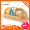 Good Selling Children Shelves Furniture Cheap Bookshelves Corner Leaning Bookshelf