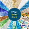 Colorful Natural Gravel Stone Aquarium Pebble