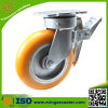Hot Sales Yellow PU Heavy Duty Caster