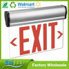 Rotary Surface Mounting Red Lettering LED Lights Edge Light Exit Sign