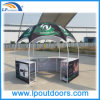 Dia 3m Hexagonal Exhibition Stand Counter Tent for Promotion