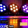 Guangzhou Hot Sale Stage PAR Can 7PCS 10W RGBW LED PAR with Ce RoHS
