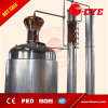 Hot Sale 500L Gin, Whisky, Rum Still with Copper Reflux Columns, Mushroom or Bell Shape at Top of Boiler