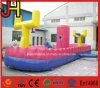 Inflatable Runway Inflatable Bungee Run Sport Equipment with Basketball Frame